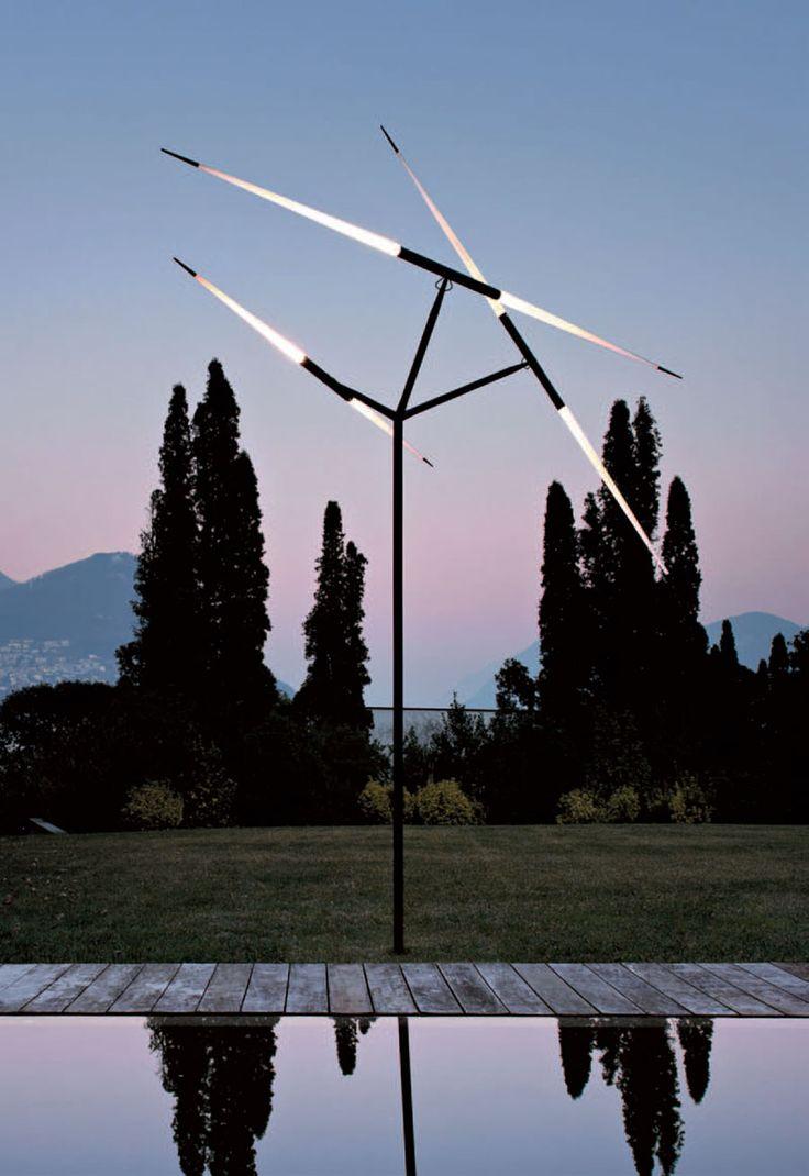 #Menegatti Lab #Luceplan Javelot Macro luce da esterno