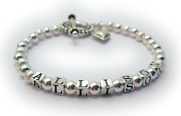 Diy Name Bracelet – Bracelet with Personalized Letters