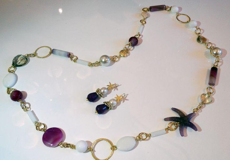 110 migliori immagini collane su pinterest creazione di gioielli gioielli collane e pasta - Collane di design ...