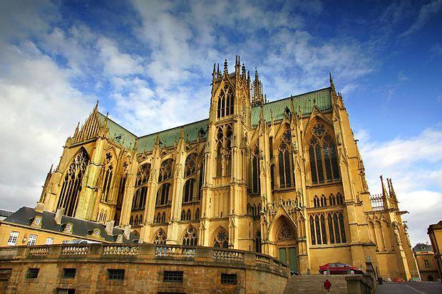 Cathédrale St-Etienne de Metz, Metz, France