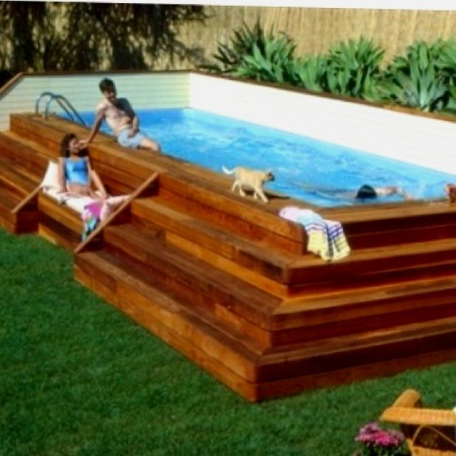18 best images about backyard makeover on pinterest for Backyard makeover with pool