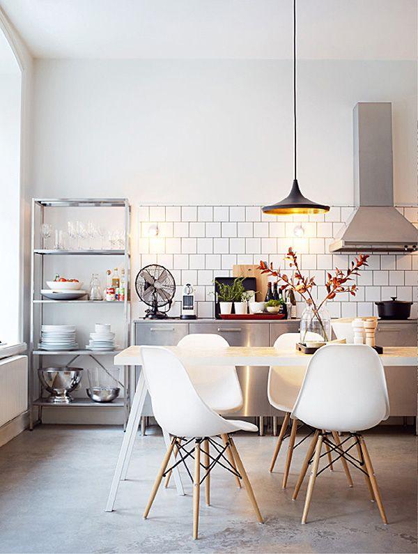 Kök i industristil