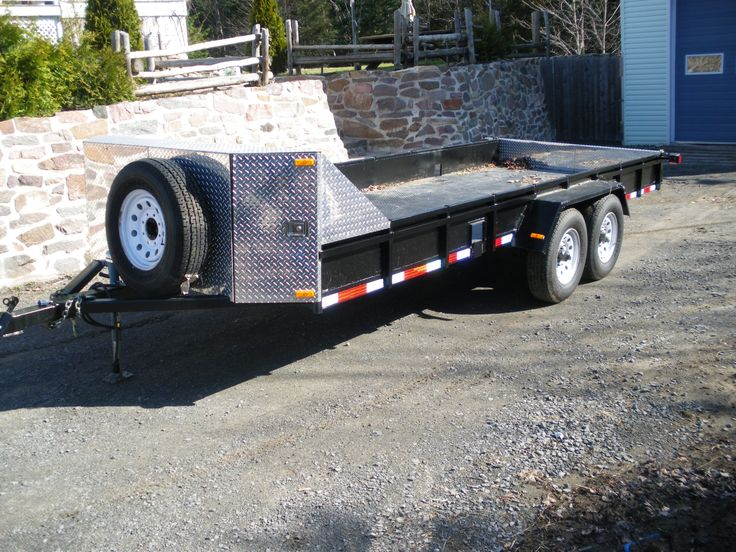 Homemade Tractor Bumper : Best images about trailers on pinterest utility trailer gooseneck and car