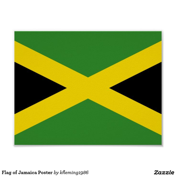 Flag of Jamaica Poster