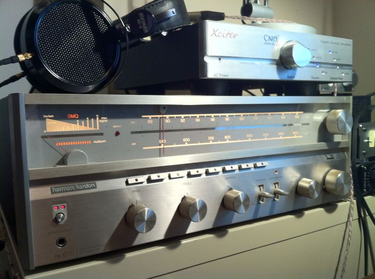 HK 670: Hi Fi Dreams, Vintage Receivers, Stereo Equipment, Vintage Stereo