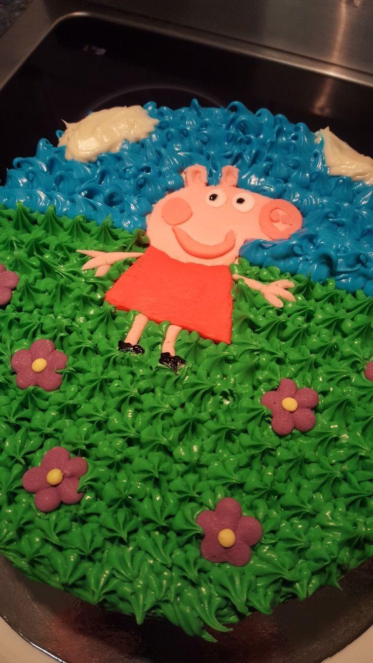 Peppa PIG cake homemade
