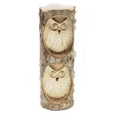 "BURUNG OWL CARVING Handcarved from crocodile wood, this sculpture sits 10"" high. Handmade by talented artisans in developing countries. Imported. Be sure to enter Kendra.IThoughtOfYou@gmail.com at checkout!"