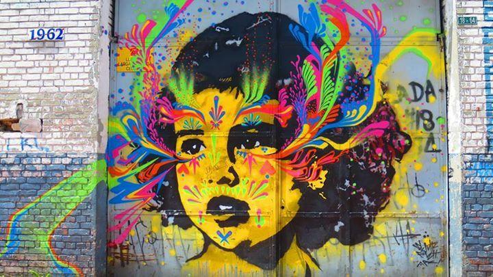 Stink Fish Graffiti