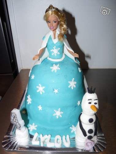 Recette gateau princesse reine des neiges