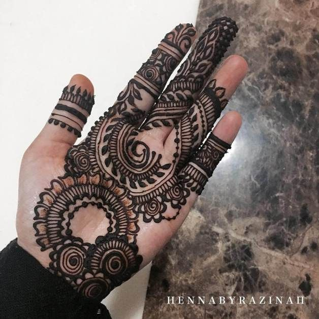 modern mehndi designs for