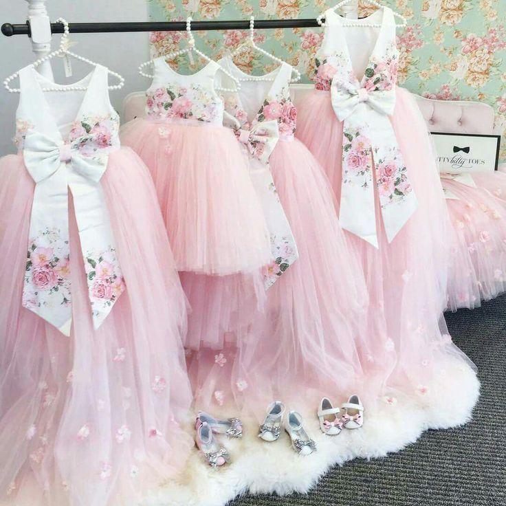 Lindos vestidos para nenas
