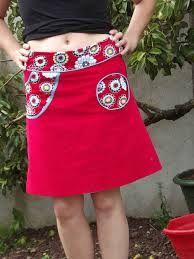"""Résultat de recherche d'images pour """"patron gratuit jupe trapèze femme taille 46"""""""