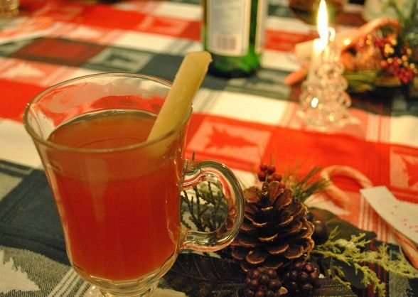 The Food Explorer's Favorite 50+ Alcoholic & Non-Alcoholic Christmas Punch Recipes: Ponche Navideño (Christmas Punch) from Culinary Adventures
