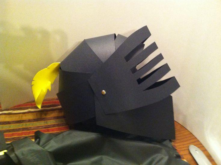 DIY Knight Helmet