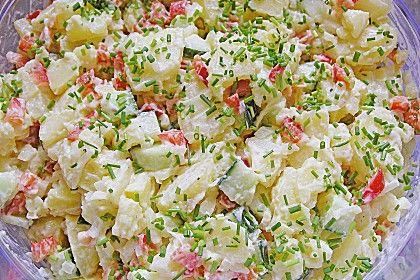 Kartoffelsalat, leicht und frisch, ein schmackhaftes Rezept aus der Kategorie Kartoffeln. Bewertungen: 14. Durchschnitt: Ø 3,9.