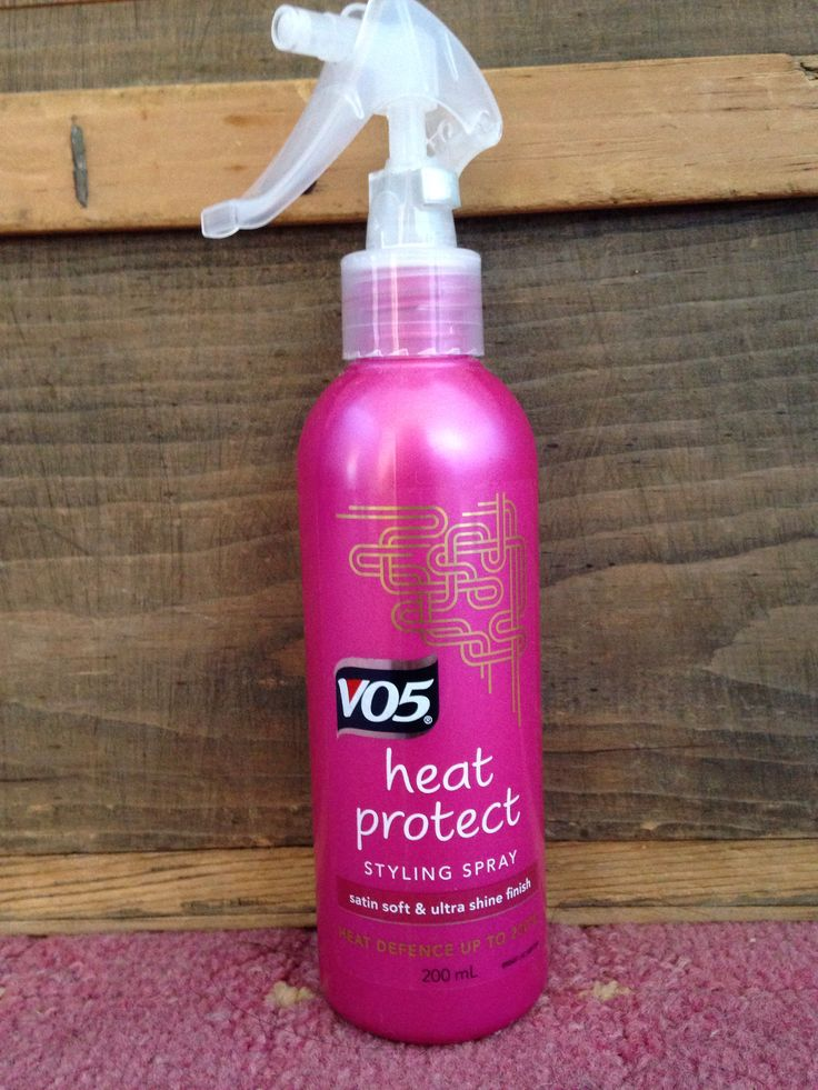 VO5 heat protect spray