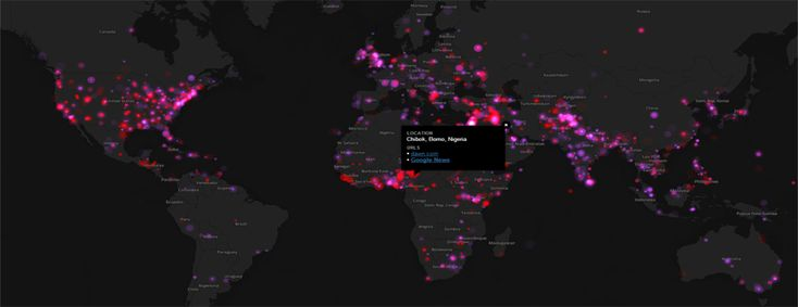 Mapping A World in Motion: A Daily Dashboard of Global Conflict