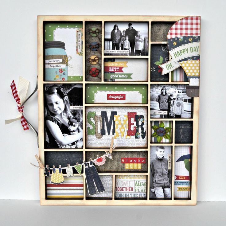 Delightful Summer ~My Creative Scrapbook~ - Scrapbook.comScrapbook Ideas, Maine Kits, Crafts Ideas, Creative Scrapbook, Delight Summer, Melissa Scrap, Kits Reveal, Scrapbook Maine, Scrap Room