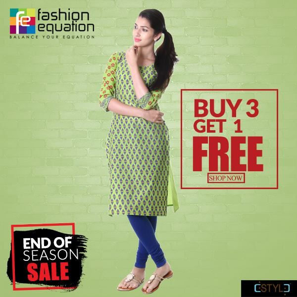 Grass Green Casual Printed Cotton Kurta From eSTYLe http://www.fashionequation.com/products/grass-green-casual-printed-cotton-kurta-from-estyle