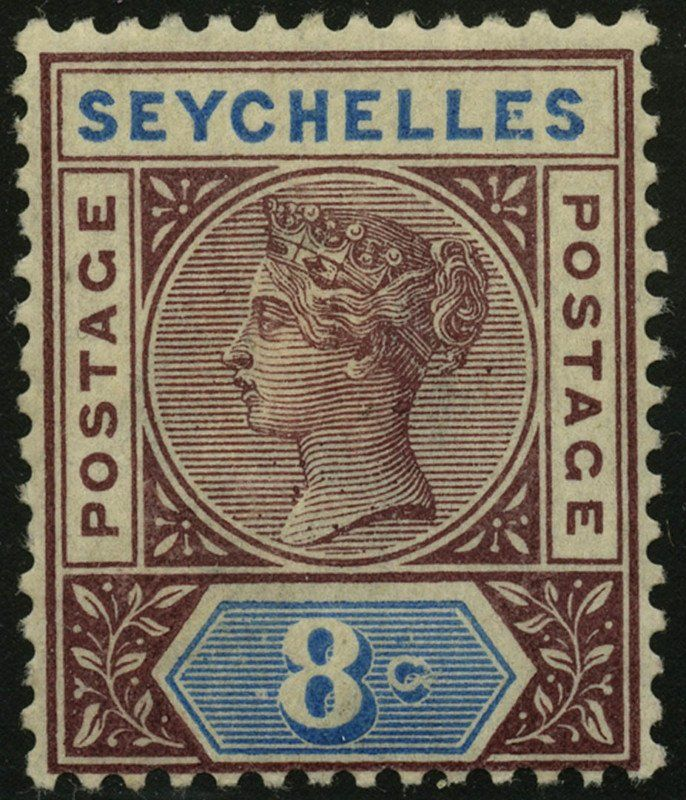 Stamp Issues Of 1890 1900 Seychelles Queen Victoria Mi Sc 3i Sn Sc 6a Yt Sc 3 A Filateliya
