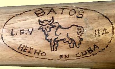 After the US embargo in 1958, Cuba was forced to produce its own sports equipment. The Cubans quickly learned to make respectable baseballs, bats, gloves, and shoes, under the government brand name, Batos. The company takes its name from a ball game that indigenous people of Cuba played. The Tainos and Ciboney Indians had a game played with a bat and ball, which the Ciboney called Batos. The company still exists today. Read More.....