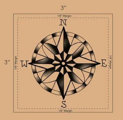 Traditional compass tattoo design | Maybe! | Pinterest ...