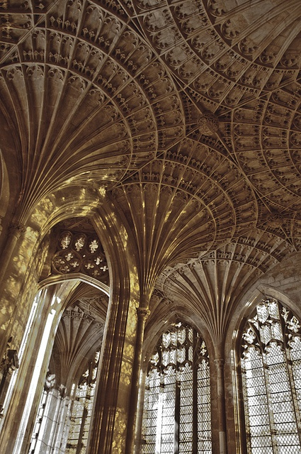 Peterborough Cathedral in Peterborough, England