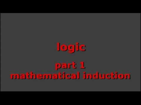 LOGIC, pt 1: mathematical induction - YouTube                                                                                                                                                                                 More