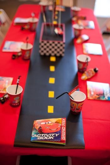 Birthday Cars -                                                              Cars, Lightning McQueen Birthday Party Ideas | Photo 1 of 31 | Catch My Party