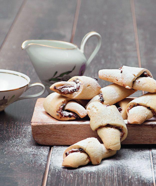 Μπισκότα κρουασάν