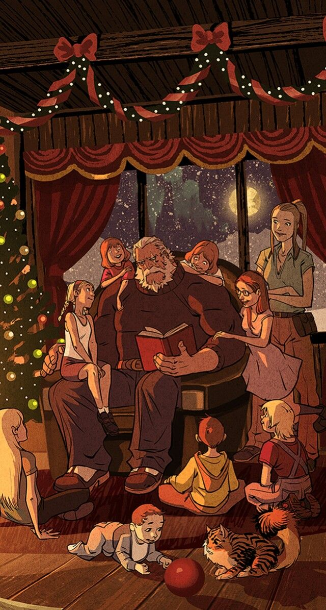 #Christmas #Reinhardt #Torbjörn #Torbjorn #Overwatch #Digital #Comics #Comic