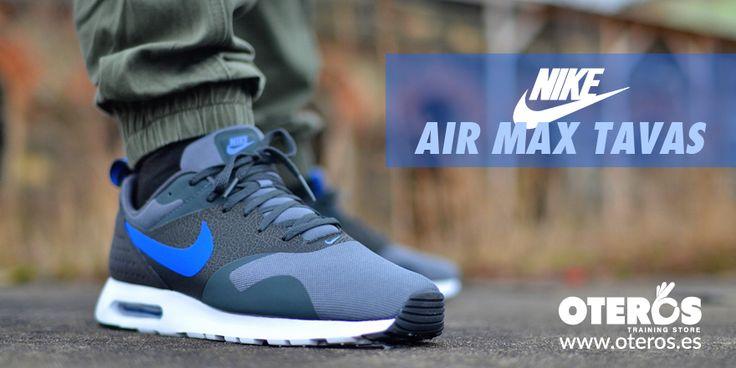 Estilo y comodidad juntos con #Nike #airmax Tavas, zapatillas #casual en nuestra tienda Oteros