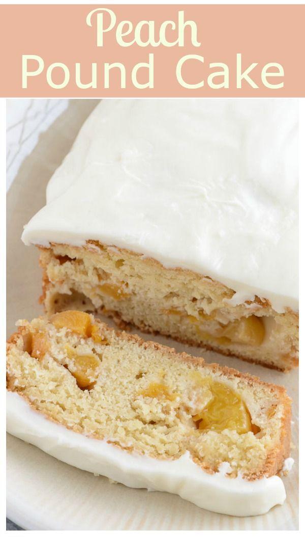 Recipes for peach pound cake
