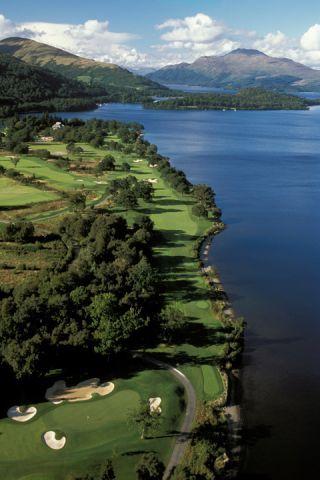 Loch Lomond Golf Club, Scotland. #scotland #golf #lochlomond