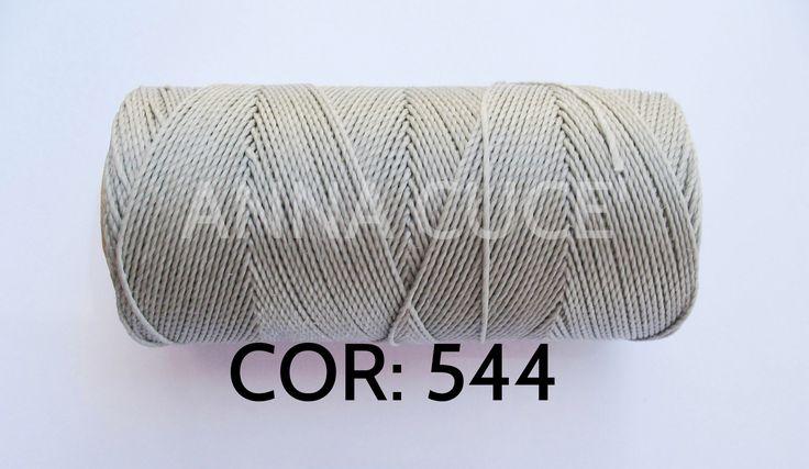 COLORE: 544 - 20 metri filo cerato LINHASITA 1 mm di spessore, filo per macramè, materiali : Merceria di annacuce