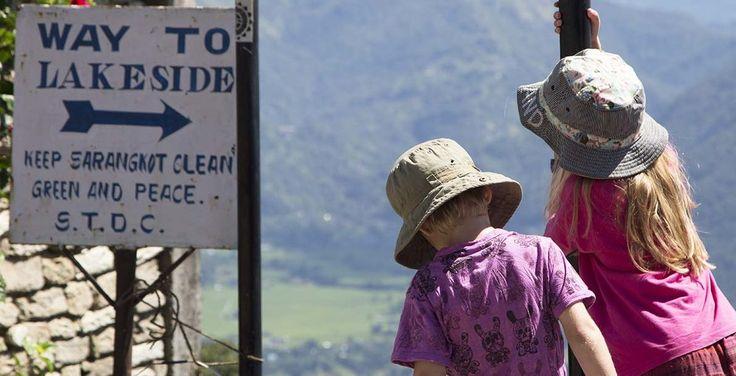 Sarangkot to Pokhara trek