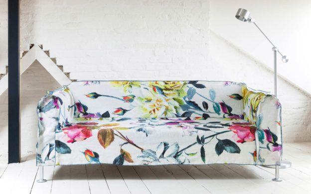 Bemz Covers Launches Ikea Collaboration With Tom Dixon Tom Dixon Printed Sofa Ikea