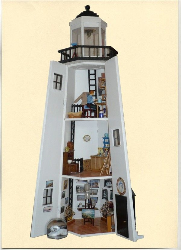 40 best lighthouses images on pinterest light house Lighthouse home floor plans