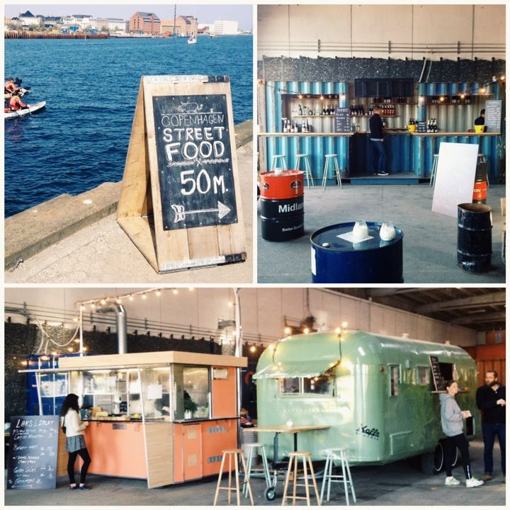 Copenhagen Street Food, Papirøen (Paper Island): vast amount of street food/food trucks available, great hall to eat in, coffee and beer available