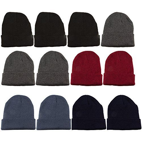 a7debfaed6d 12 Units Of excell Mens Womens Warm Winter Hats In Assorted Colors   Read  more at