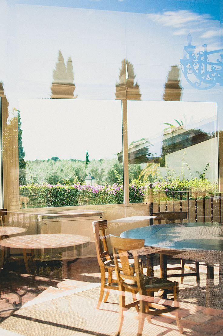 Blanco y Caramelo: VISITA A L'ORANGERIE CLOS BARENYS
