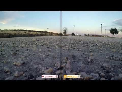 Mercalli V4 SAL+ Side by Side Comparison - 3DR Solo Tower App Flown Mission (Raw Footage) - YouTube