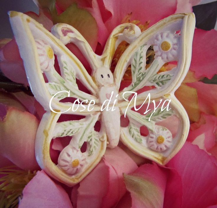 Farfalle in ceramica, by COSE DI MYA, 3,50 € su misshobby.com