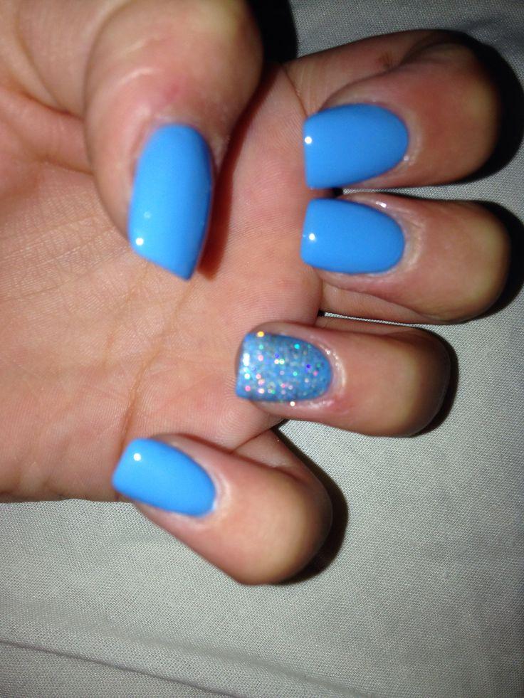pastel blue nails ideas