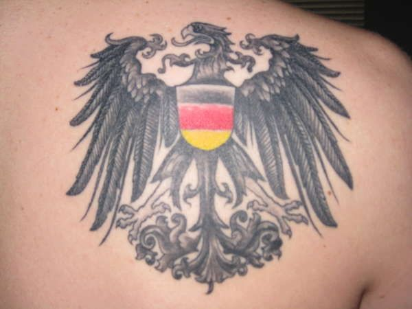 German imperial eagle tattoo - photo#13