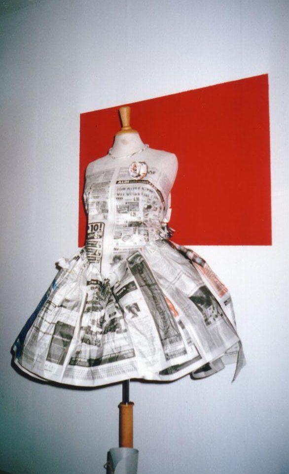 Kranten-jurk maken - Girlscene Forum