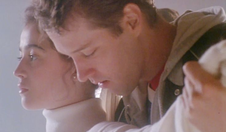 Cutting Edge movie. Moira Kelly and DB Sweeney  -- one of the best scenes in the movie!
