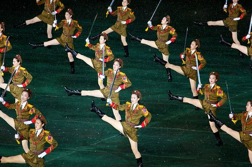 Mass Game Sexy Soldiers - North Korea | Arirang Mass Games, … | Flickr