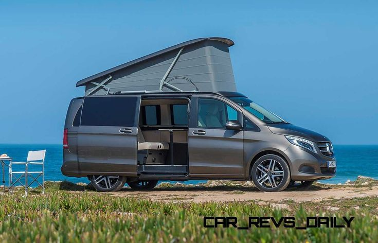 2015 mercedes benz marco polo glampers primed for lux for Mercedes benz sprinter camper van