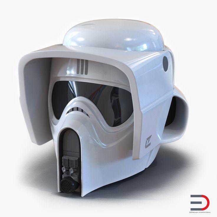 Star Wars Scout Trooper Helmet 3d model  #StarWars #Scout #Trooper #Helmet #3d #model http://www.turbosquid.com/3d-models/3d-star-wars-scout-trooper/982323?referral=3d_molier-International
